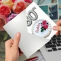 Stylish Milestone Birthday Paper Card From NobleWorksCards.com - Big Day 80 image 5