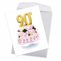 Stylish Milestone Birthday Jumbo Paper Card From NobleWorksCards.com - Big Day 90 image 2