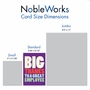 Hilarious Employee Appreciation Day Greeting Card From NobleWorksCards.com - Big Employee Thanks image 5