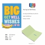 Funny Get Well Jumbo Paper Card From NobleWorksCards.com - Big Get Well Wishes image 5