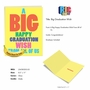 Funny Graduation Jumbo Paper Greeting Card From NobleWorksCards.com - Big Graduation Wish image 5