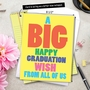 Funny Graduation Jumbo Paper Greeting Card From NobleWorksCards.com - Big Graduation Wish image 6