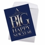 Funny New Year Jumbo Paper Greeting Card From NobleWorksCards.com - Big Happy New Year-Elegant image 2