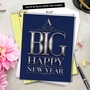 Funny New Year Jumbo Paper Greeting Card From NobleWorksCards.com - Big Happy New Year-Elegant image 6
