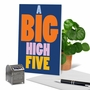 Funny Congratulations Card From NobleWorksCards.com - Big High Five image 6