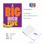 Humorous Congratulations Jumbo Paper Greeting Card From NobleWorksCards.com - Big High Five image 2