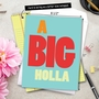 Hilarious Miss You Jumbo Printed Greeting Card from NobleWorksCards.com - Big Holla image 6