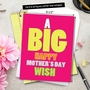 Funny Mother's Day Jumbo Paper Card from NobleWorksCards.com - Big Mother's Day Wish image 6