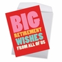 Funny Retirement Jumbo Card From NobleWorksCards.com - Big Retirement Wishes image 2