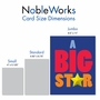 Funny Congratulations Jumbo Card From NobleWorksCards.com - Big Star image 5