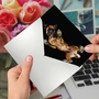 Stylish Miss You Paper Greeting Card By Underlook From NobleWorksCards.com - Big Under Dogs - Boxer image 3