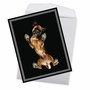 Stylish Miss You Jumbo Paper Card By Underlook From NobleWorksCards.com - Big Under Dogs - Boxer image 3