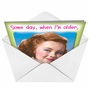 Hilarious Birthday Paper Greeting Card from NobleWorksCards.com - Biggest Whore image 2