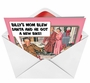 Hysterical Christmas Printed Greeting Card from NobleWorksCards.com - Billys Mom image 2