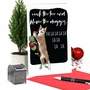 Humorous Merry Christmas Paper Card By Christine Anderson From NobleWorksCards.com - Blame The Doggies image 6
