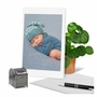Creative Baby Printed Greeting Card From NobleWorksCards.com - Blissful Babies - Boy image 6