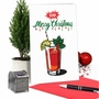 Creative Merry Christmas Printed Greeting Card From NobleWorksCards.com - Bloody Merry image 5