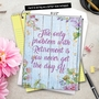 Stylish Retirement Jumbo Card From NobleWorksCards.com - Blooming Driftwood image 6