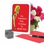 Hilarious Valentine's Day Greeting Card By Douglas Hill From NobleWorksCards.com - Blow A Kiss image 5