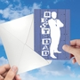 Creative Father's Day Printed Card By Ken Hurd/Portfolio Select Ltd. From NobleWorksCards.com - Blue Dad image 3
