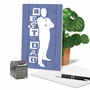 Creative Father's Day Printed Card By Ken Hurd/Portfolio Select Ltd. From NobleWorksCards.com - Blue Dad image 5