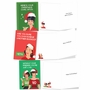 Hysterical Merry Christmas Printed Greeting Card By Bluntcard From NobleWorksCards.com - Blunt For The Holidays image 4