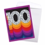 Creative Milestone Birthday Jumbo Printed Greeting Card From NobleWorksCards.com - Bold Milestones - 100 image 3