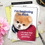 Hilarious Birthday Jumbo Printed Greeting Card By Spotlight Licensing From NobleWorksCards.com - Boo's A Good Boy image 6