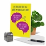 Hilarious Birthday Printed Card From NobleWorksCards.com - Brain Change image 6