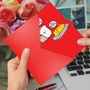 Hysterical Valentine's Day Greeting Card By Scott Nelson From NobleWorksCards.com - Bread and Butter image 2