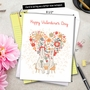 Creative Valentine's Day Jumbo Greeting Card from NobleWorksCards.com - Bunny Love image 6