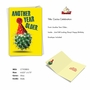 Funny Birthday Paper Greeting Card From NobleWorksCards.com - Cactus Celebration image 2