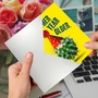 Funny Birthday Paper Greeting Card From NobleWorksCards.com - Cactus Celebration image 3