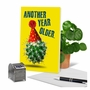 Funny Birthday Paper Greeting Card From NobleWorksCards.com - Cactus Celebration image 6