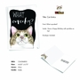 Hilarious Birthday Printed Greeting Card By Christine Anderson From NobleWorksCards.com - Cat Antics - Cupcakes image 2