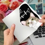 Hilarious Birthday Printed Greeting Card By Christine Anderson From NobleWorksCards.com - Cat Antics - Cupcakes image 3