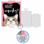 Hilarious Birthday Jumbo Greeting Card By Christine Anderson From NobleWorksCards.com - Cat Antics - Cupcakes image 5