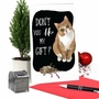 Humorous Merry Christmas Paper Greeting Card By Christine Anderson From NobleWorksCards.com - Cat Gift image 6