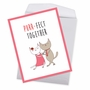 Stylish Anniversary Jumbo Card From NobleWorksCards.com - Cat Got Your Tongue - Purr-Fect Together image 3