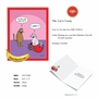 Humorous Valentine's Day Jumbo Card By Scott Metzger From NobleWorksCards.com - Cat In Candy image 2