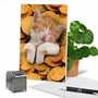 Humorous Hanukkah Card From NobleWorksCards.com - Cat In Gelt image 6
