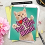 Stylish Mother's Day Jumbo Paper Card from NobleWorksCards.com - Cat Love You This Much image 6