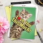 Creative Father's Day Jumbo Greeting Card from NobleWorksCards.com - Cat Love You This Much image 6