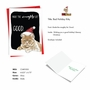 Funny Merry Christmas Paper Greeting Card By Christine Anderson From NobleWorksCards.com - Cat Naughty List image 2