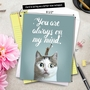Creative Miss You Jumbo Greeting Card From NobleWorksCards.com - Cat-Sent Greetings image 6