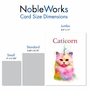 Creative Birthday Jumbo Greeting Card From NobleWorksCards.com - Caticorn image 4
