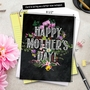 Creative Mother's Day Jumbo Greeting Card from NobleWorksCards.com - Chalk And Roses image 6