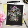 Stylish Mother's Day Jumbo Card From NobleWorksCards.com - Chalk and Roses image 6