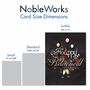 Creative Retirement Jumbo Printed Card From NobleWorksCards.com - Chalk and Roses - Retirement image 5