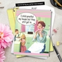 Hilarious Mother's Day Jumbo Paper Card by Ephemera from NobleWorksCards.com - Child Proof image 6